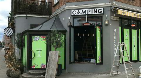 Sentralt. Camping ligger i Åboulevarden, bare en putt unna biblioteket og landemerket Dokk1.