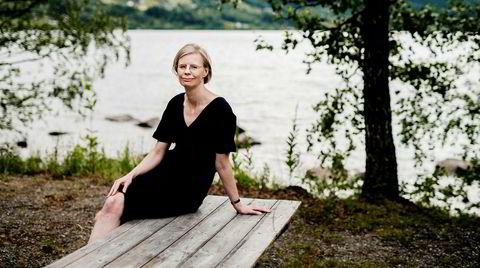 Hedvig Montgomery, psykolog og forfatter, her fotografert i Fagernes. Foto: Fartein Rudjord Foto: Fartein Rudjord