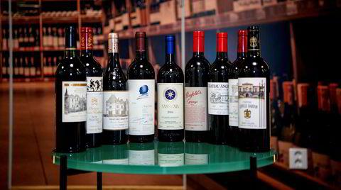 224 nye viner står i Vinmonopolets spesialbutikker torsdag. Over halvparten er fra Bordeaux, hovedsakelig fra den gylne 2016-årgangen. Blant resten er det en rekke toppviner fra Australia, Argentina, USA og Italia.