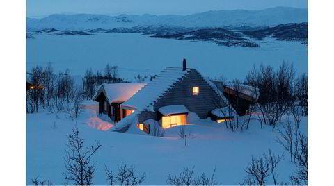 På topp. Thordentopp er et tilbygg til en gammel tømmerhytte ved inngangen til Hardangervidda.