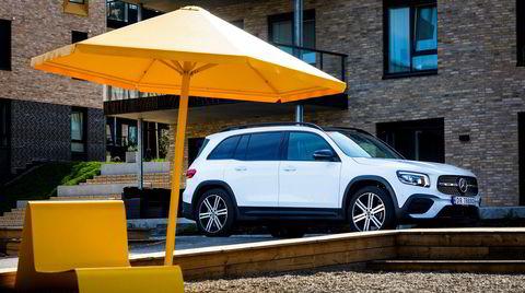 Mercedes GLB er en ypperlig bil å dra på norgesferie i. Den har bra kjøreegenskaper, samt plass til alt og alle.