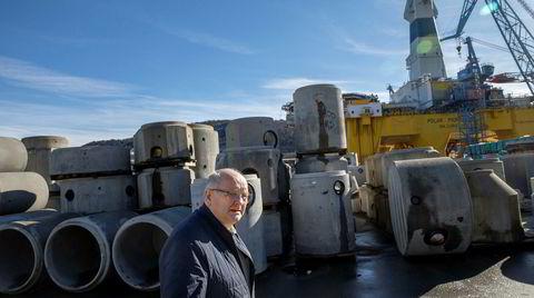 – Jeg er veldig bitter, sier Atle Berge, som har bygget opp Ølen Betong-gruppen til å bli en av de ledende betongprodusentene i Norge.