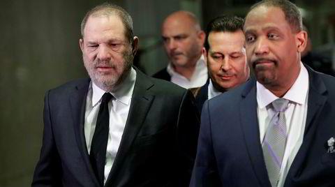 Da jusprofessor Ron Sullivan (til høyre) ble Harvey Weinsteins forsvarer, reagerte studentene ved Harvard med vantro.
