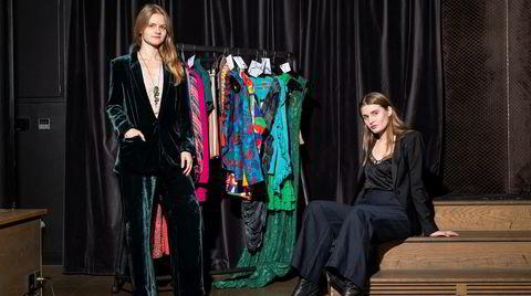Høymote. Med en felles entusiasme for brukte klær av høy kvalitet startet Maria Sundby (til venstre) og Tuva Holm Søvik byttemarkedet Trade Shop i høst.