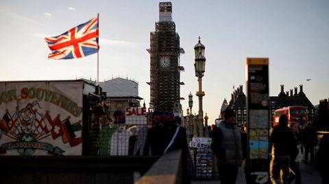 Big Ben skal ikke ringe. Nasjonalsymbolet er under oppussing, og selv ikke brexit vil markeres med klokkeslag. Storbritannia gikk ut av EU ett minutt over klokken 11 i går kveld, engelsk tid.