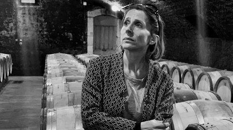 Geraldine Godot har økt kvaliteten på vinene betraktelig hos Domaine d´Arlot i Burgund.