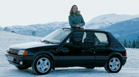 Mitt Kjøretøy - Margrethe Seim Bakketun, Peugeot 205 GTI. -