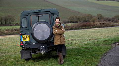 Ruth Simpson driver Englands østligste vingård: Simpsons' Wine Estate i North Downs i Kent. Nå kan du få seks av hennes strålende viner på Polet.