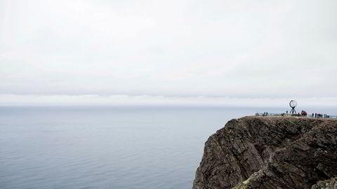 Nordkappklippen hadde i juli i fjor 85.000 besøkende. I år var bare 19.000 innom.