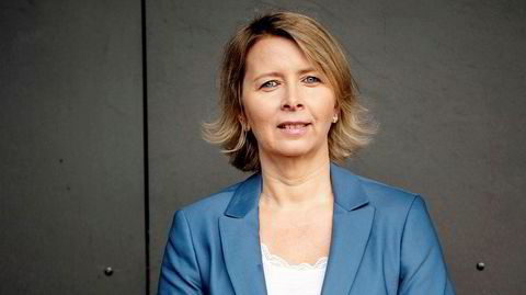 Karoline Nystrøm: – Enkelte som møter oss, må nok tenke at der er det en mor som pusher ungen sin noe innmari