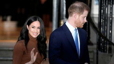 I en tale til stiftelsen Sentebale søndag kveld snakket prinsen om avgjørelsen om at han og hertuginne Meghan skal tre seg tilbake fra fremste rekke i det britiske kongehuset.