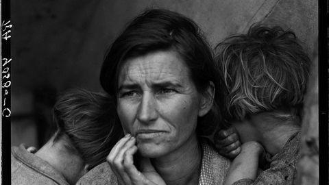 Ikon. «Migrant Mother» fra 1936 er bildet som skrev Dorothea Lange inn i kunsthistorien.