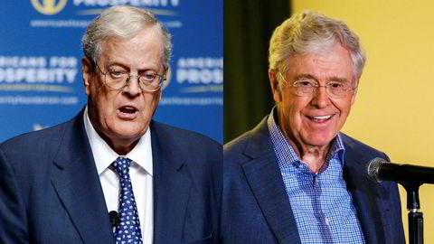 David og Charles Koch går inn i mediekonsernet Time Inc.