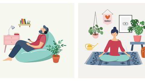 Nyttig informasjon. Claudia Hammond hører stadig fra lesere som melder at boken «The art of rest» er kjærkommen lektyre i selvisoleringens tid. – Mange vil bruke tiden effektivt til «nyttige» gjøremål som oppussing, språklæring og selvforbedring. Da trenger de en påminnelse om å ta seg en hvil også. Det gjelder å finne rytmen mellom aktivitet og å hvile.