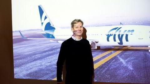 Erik Braathens flysatsing Flyr debuterte på børs mandag.