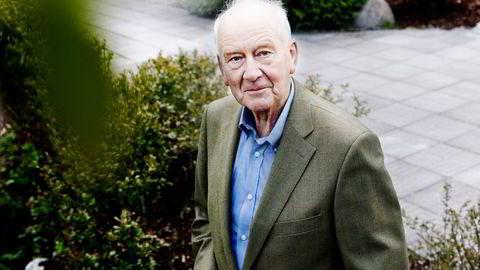 Tidligere Høyre-representant og næringslivstopp Leif Frode Onarheim er død. Bildet er fra 2012.
