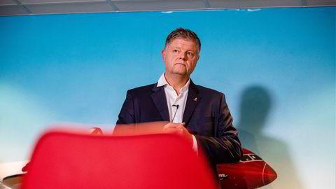 Norwegian-sjef Jacob Schram.