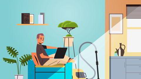 Noen undersøkelser viser at produktiviteten generelt blir lavere jo lenger arbeidstageren er på hjemmekontor, skriver Tone Tellevik Dahl.