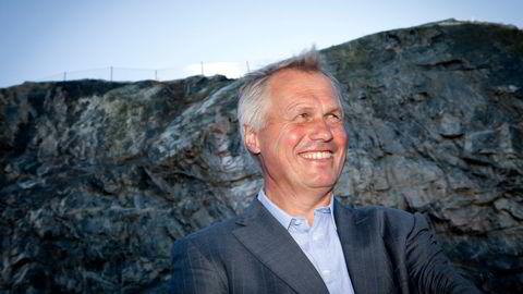 Gustav Witzøe er grunnlegger, konsernsjef og hovedeier av Salmar