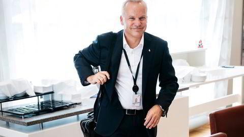 Equinors toppsjef Anders Opedal kan smile fra øre til øre over høye gasspriser.