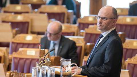 Steinar Reiten har møtt fast på Stortinget de siste fire årene. Nå er han innvilget nesten en kvart million kroner i fratredelsesytelse.