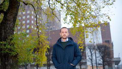 Administrerende direktør Andreas Martinussen i Solon Eiendom. Nå blir svenske SBB Solons største aksjonær.