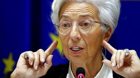 Christine Lagarde er sentralbanksjef for ECB. Tirsdag ettermiddag iverksatte hun nye tiltak for å redde den europeiske økonomien.