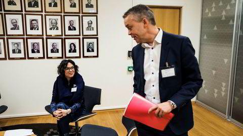Coca-Cola-sjef Stein Rømmerud får tilbake hylleplass hos Rema. Her er han sammen Johanna Ellefsen Rostad i Ringnes under et møte om sukkeravgiften hos næringsministeren tidligere denne uken.