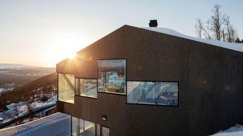 Hytta som viderefører arven fra den norske etterkrigsmodernismen