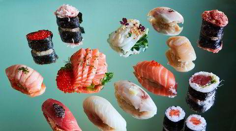 For 850 kroner får man et variert utvalg av fantastiske råvarer fra havet. Men det er bare å innse at korona er uforenlig med perfekt temperert ris og samspillet med kokken som en Omakase-aften vanligvis innebærer.