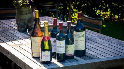 Eldre vin man kan få kjøpt på polet.