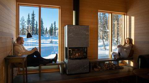 Denne hytta har alkoholbåren gulvvarme