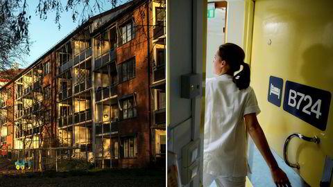 De aller fleste boligene i Oslo er ikke tilgjengelig for en sykepleier.