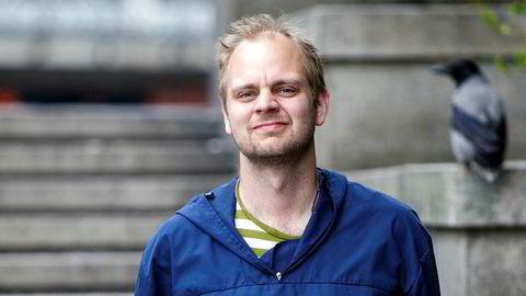«Jeg vil på Stortinget!» skriver Mimir Kristjansson på Facebook.