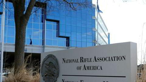 National Rifle Association (NRA) sitt hovedkvarter i Fairfax, Virginia.