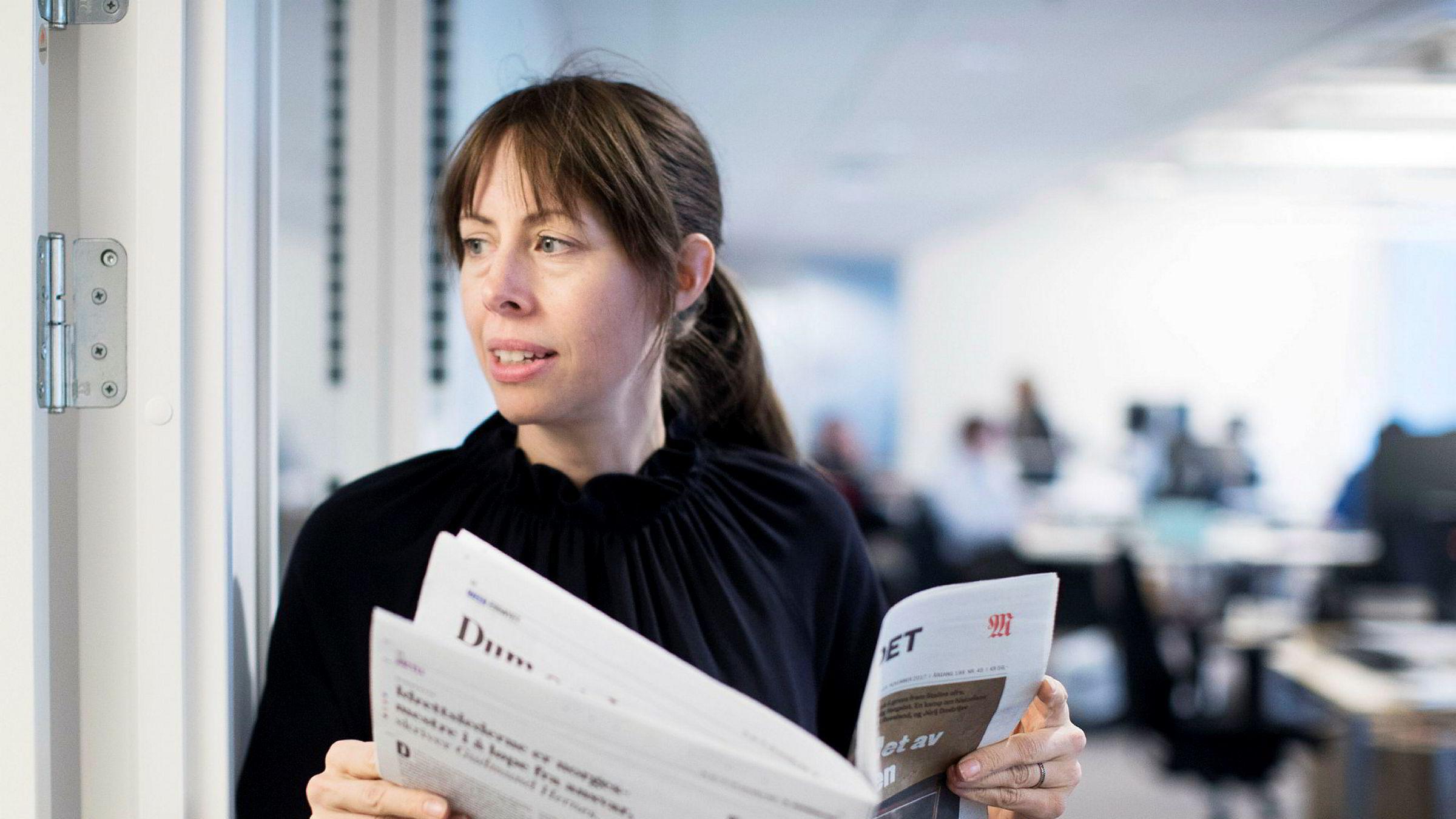 Ansvarlig redaktør Anna B. Jenssen går av som redaktør i Morgenbladet.
