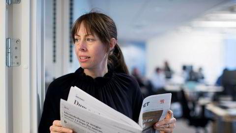 En kraftig og støyfull nedbemanningsprosess har gitt Morgenbladet-redaktør Anna B. Jenssen flere sykemeldinger.