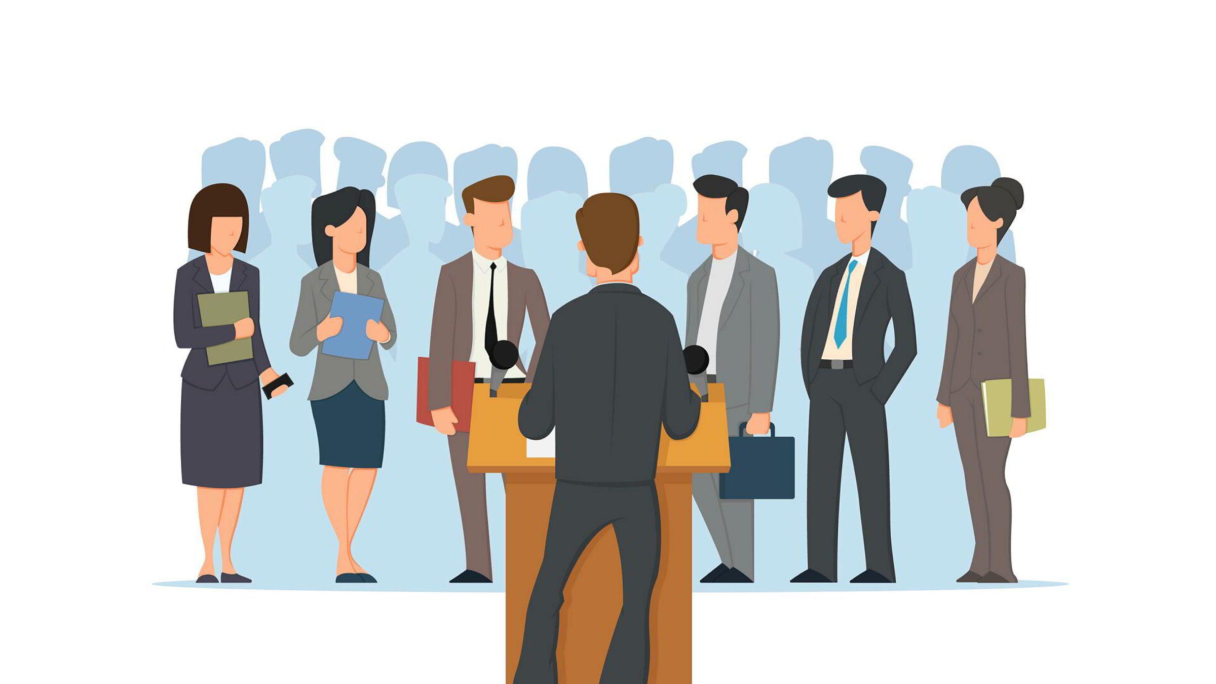 Ledere kan ofte pakke inn det de driver med, det organisasjoner gjør og det de leverer i meningsløse fraser.