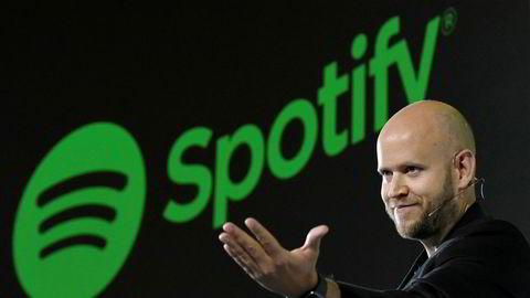 Gründer og administrerende direktør Daniel Ek i Spotify.