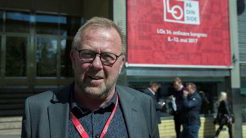 Forbundsleder Jan Olav Andersen i EL og it Forbundet, sier det var harde forhandlinger.