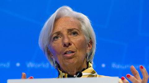 - Vi har nå vedtatt et rammeverk for styrket engasjement når det gjelder korrupsjon, sier IMF-sjef Christine Lagarde.
