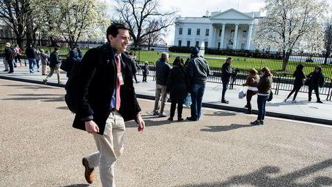 Zeke Miller har gode tider som reporter i Det hvite hus: – Trump gjør det lett for oss å dekke ham, for han er så snakkesalig, sier Miller.