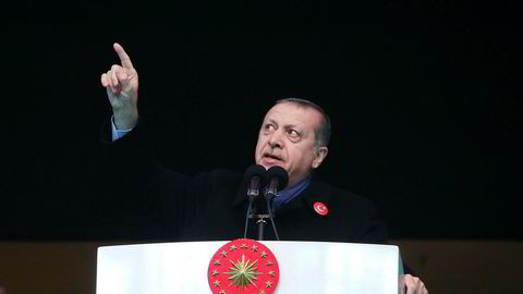 Tyrkias president Recep Erdogan