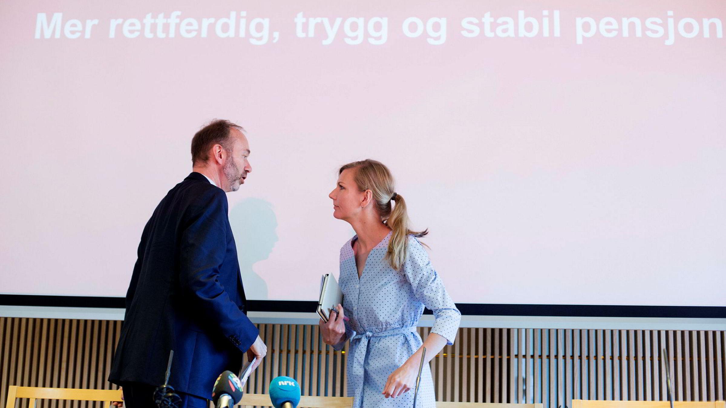 Nestleder Trond Giske i Arbeiderpartiet skal ifølge kilder være ute etter jobben til kollega Marianne Marthinsen som finanspolitisk talsperson.