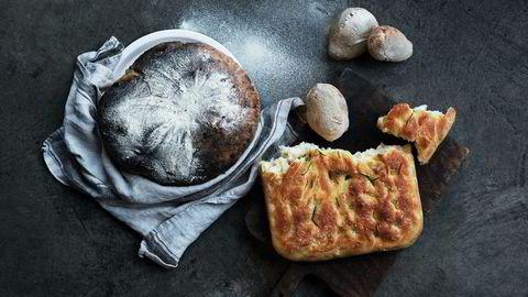 Tradisjonsrikt. Ciabatta, landbrød og focaccia er hjørnesteinene i den italienske brødtradisjonen.