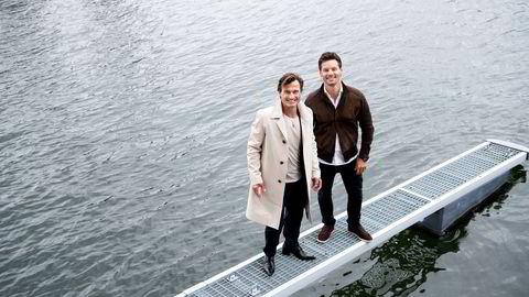 Anders Buchardt (til høyre) bekrefter at familieselskapet AB Invest har kjøpt ut Petter A. Stordalen fra både storhotellet Runway på Gardermoen og alpinkonsernet Alpinco.
