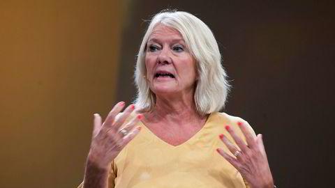 – Jeg er ikke tilhenger av å tenke på kvinner som mer stakkarslige eller hjelpeløse enn menn er, sier Civita-leder Kristin Clemet.
