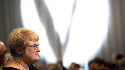 Til våren kan det bli vinn eller forsvinn for Venstre-leder Trine Skei Grande. Partiet stålsetter seg for måneder med lederspekulasjoner. Foto: Terje Bendiksby / NTB scanpix
