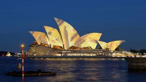 Australia og flere TPP-medlemsland håper frihandelsavtalen kan leve videre uten USA. Bildet viser operahuset i Sydney.