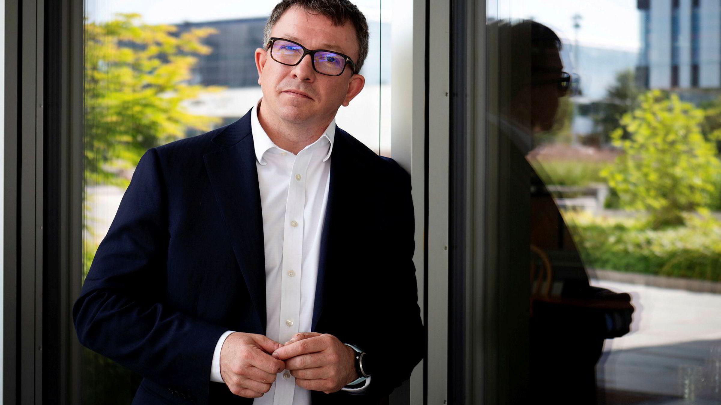 Administrerende direktør Karl Johnny Hersvik i Aker BP.
